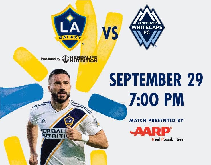 More Info for LA Galaxy vs. Vancouver Whitecaps FC