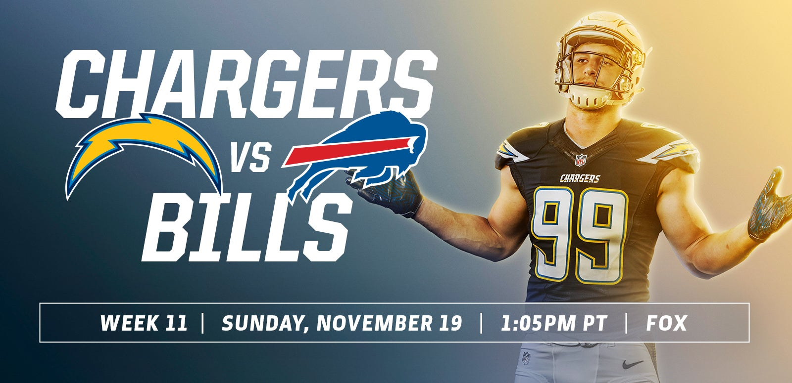 Los Angeles Chargers vs. Buffalo Bills