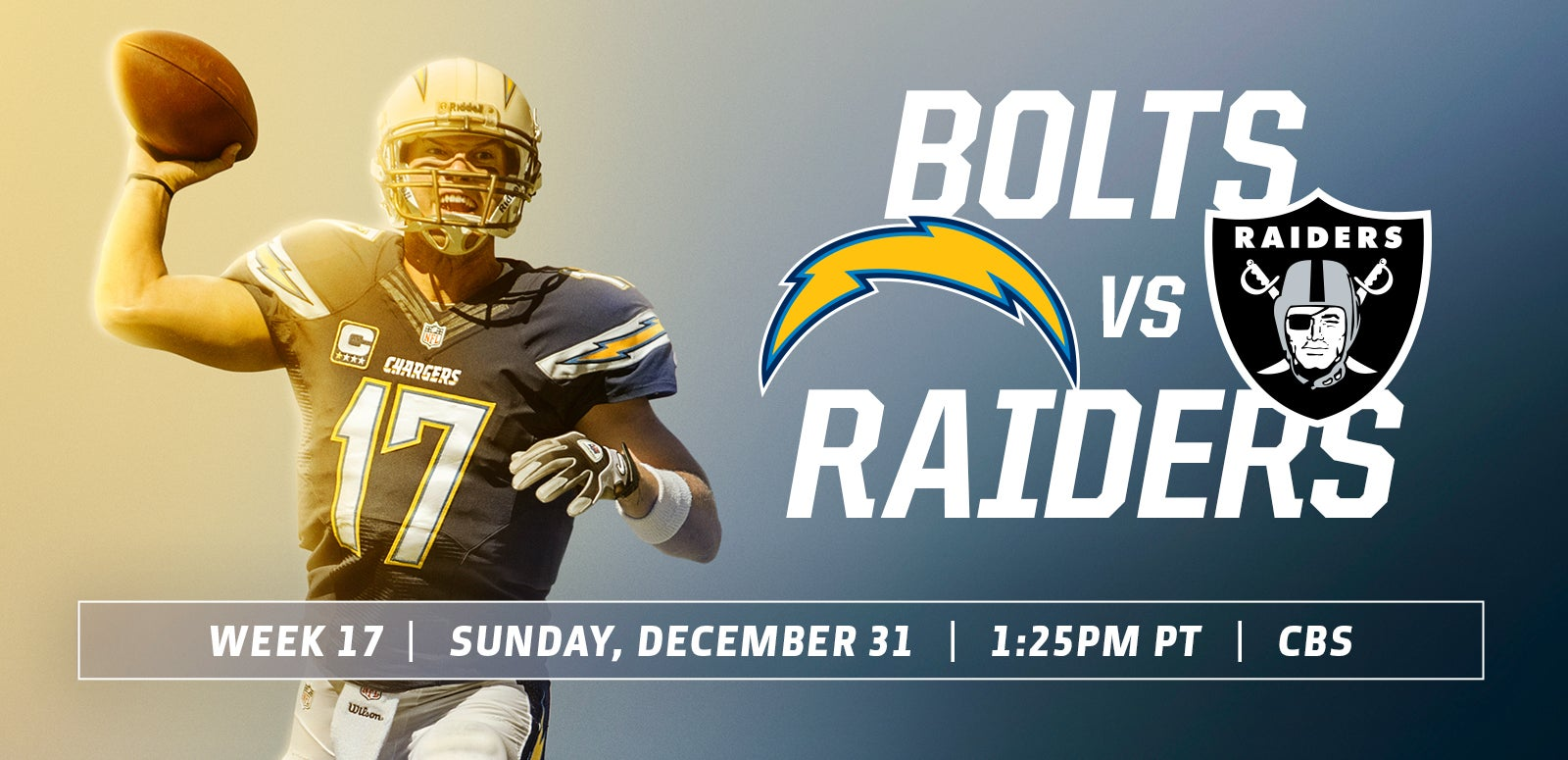 Los Angeles Chargers vs. Oakland Raiders