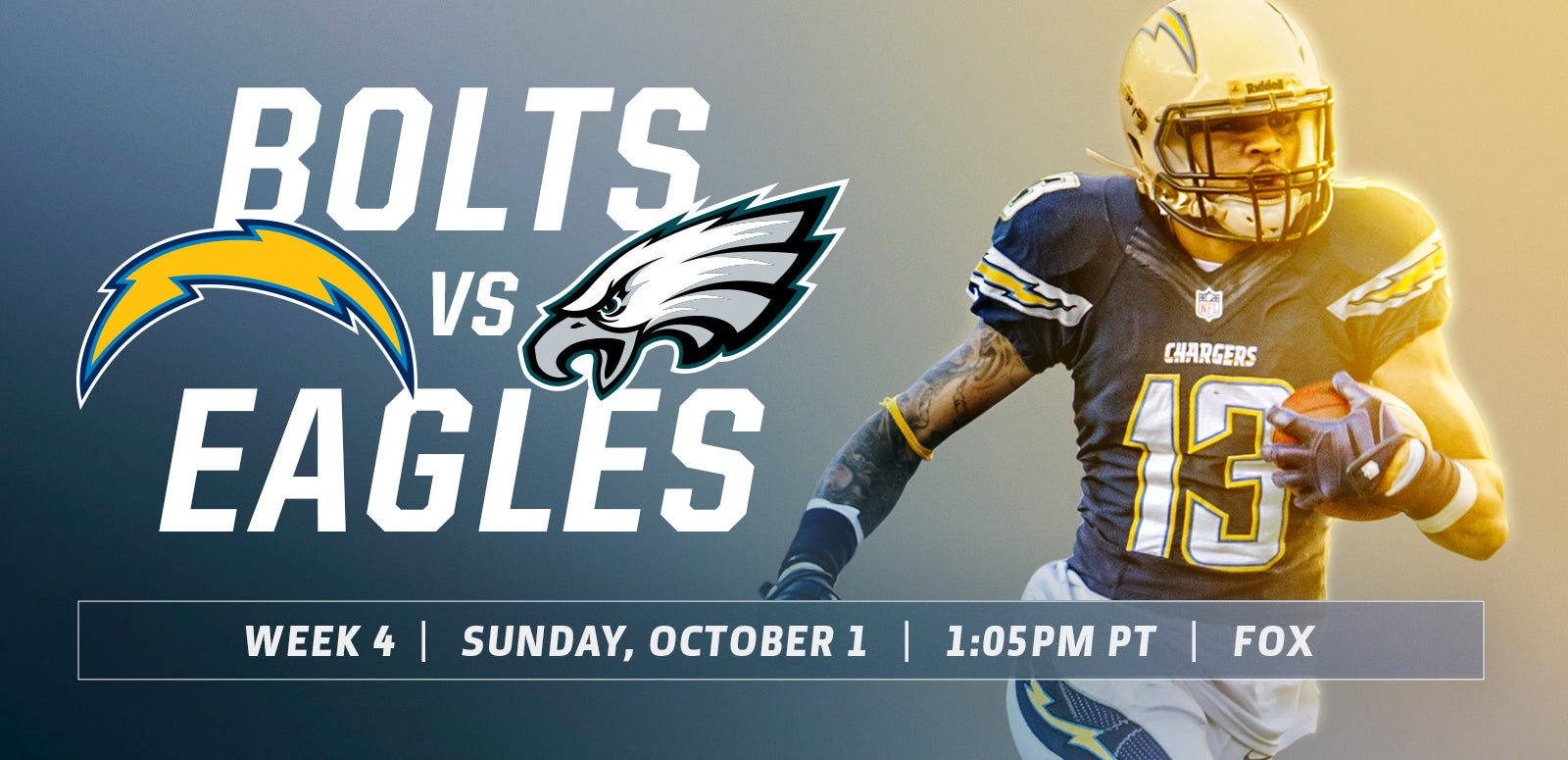 Los Angeles Chargers vs. Philadelphia Eagles