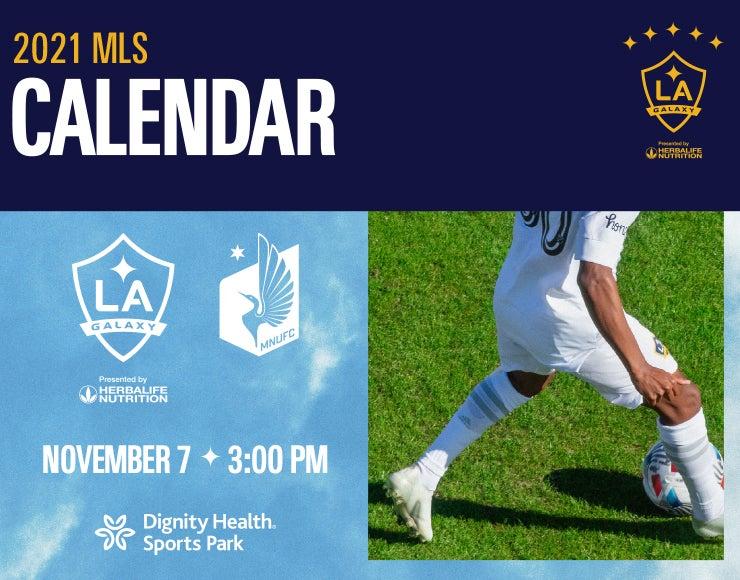 More Info for LA Galaxy vs. Minnesota United FC
