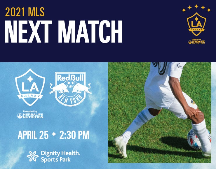 More Info for LA Galaxy vs. New York Red Bulls