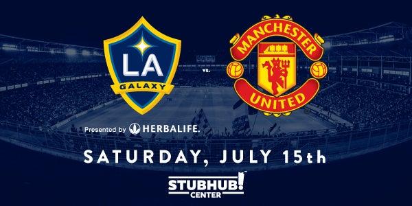 LA Galaxy vs Manchester United