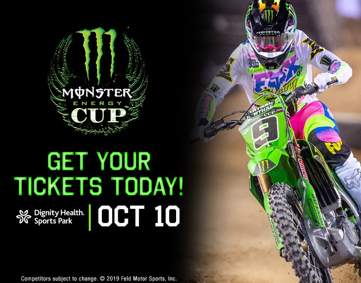 Dignity Health Sports Park to host Monster Energy Cup