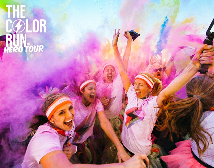 More Info for The Color Run Hero Tour is coming to StubHub Center