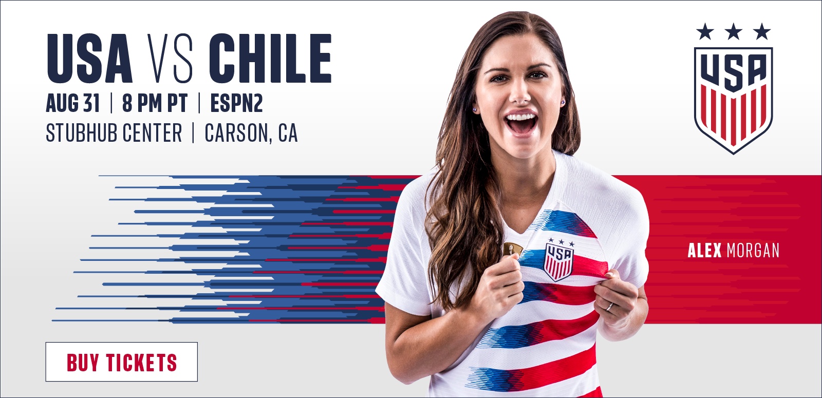 More Info for StubHub Center to host U.S. Women's National Team match against Chile on August 31