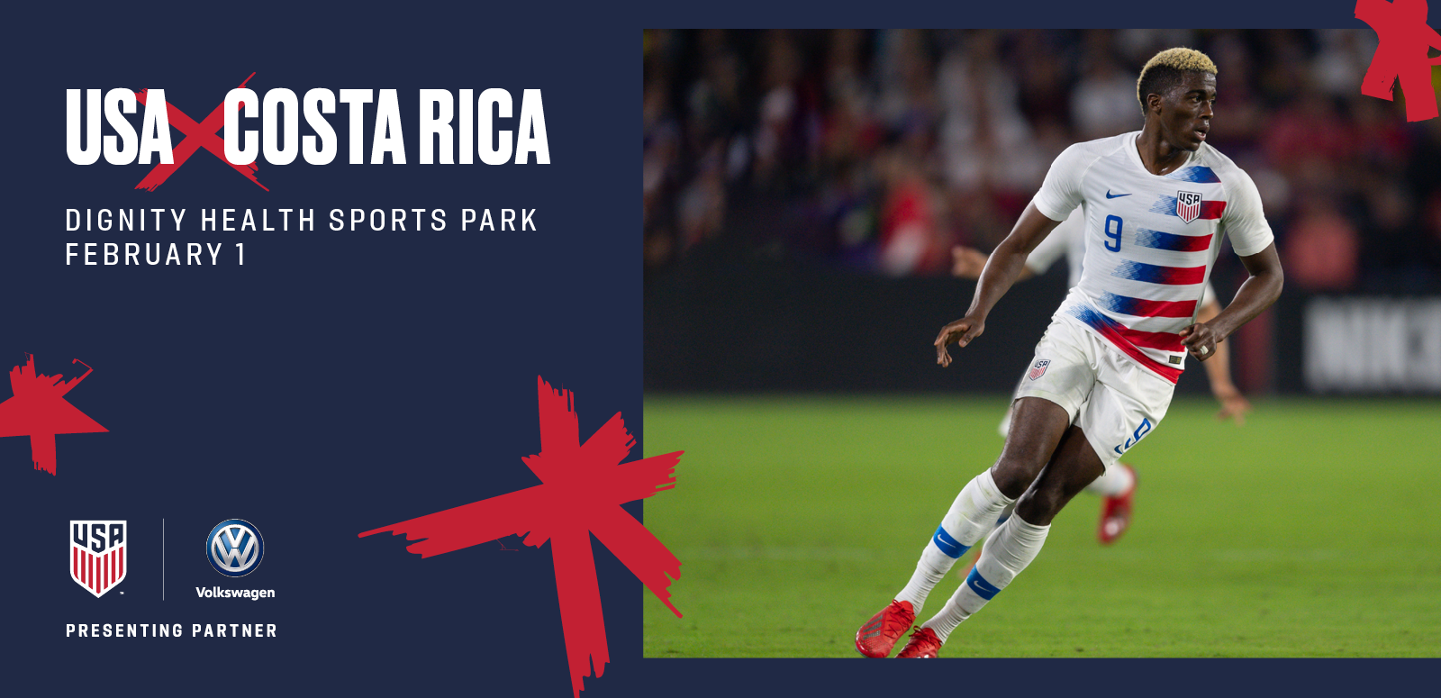 U.S. Men's National Team vs. Costa Rica