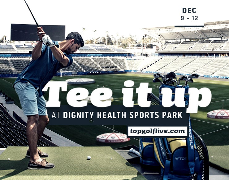 Topgolf Live Stadium Series to Tee Off at Dignity Health Sports Park December 9-12, 2021