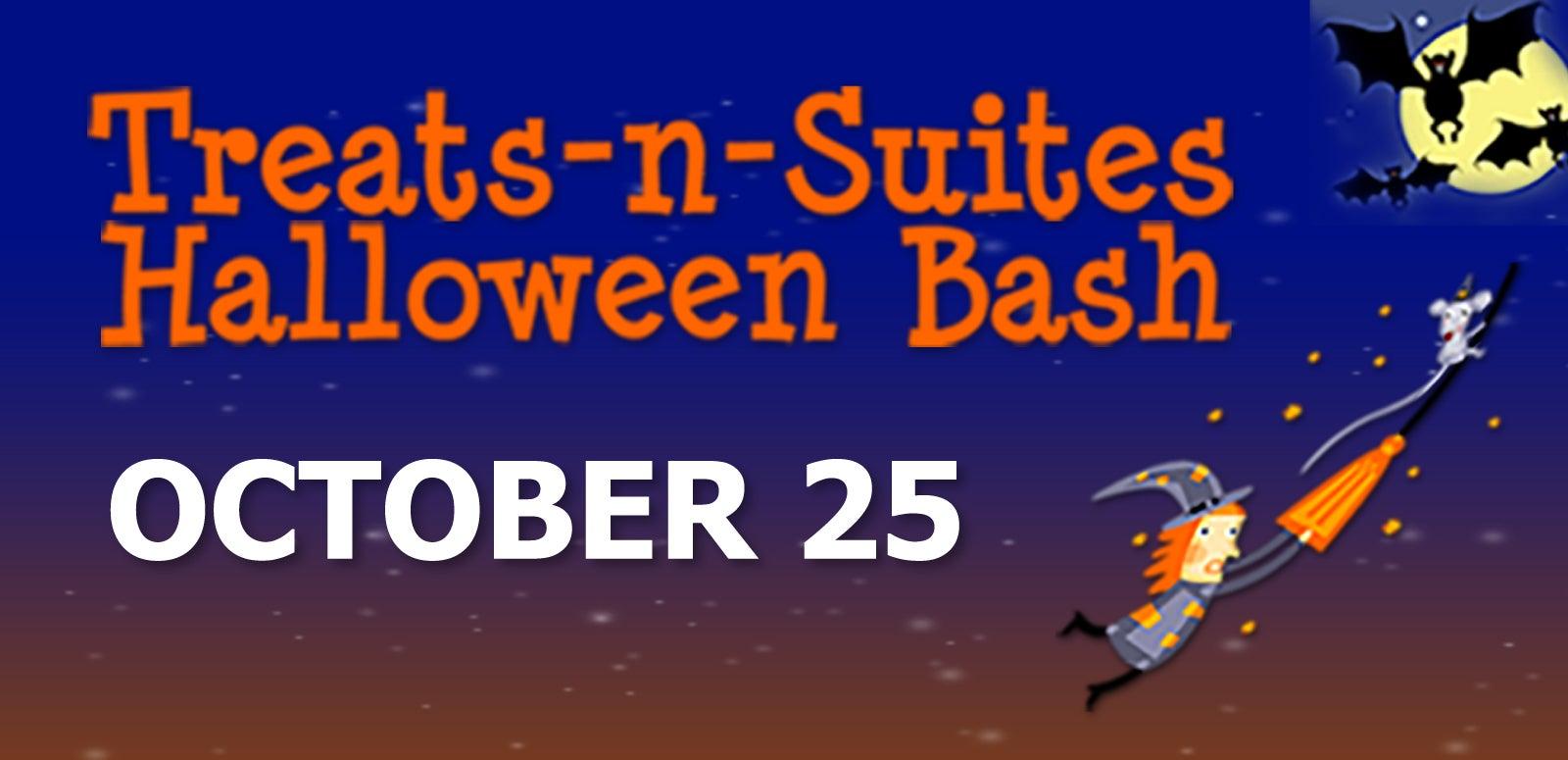 Treats-n-Suites Halloween Bash