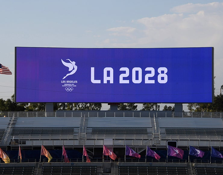 More Info for LA landmarks, US Olympic cities will light up to celebrate LA 2028