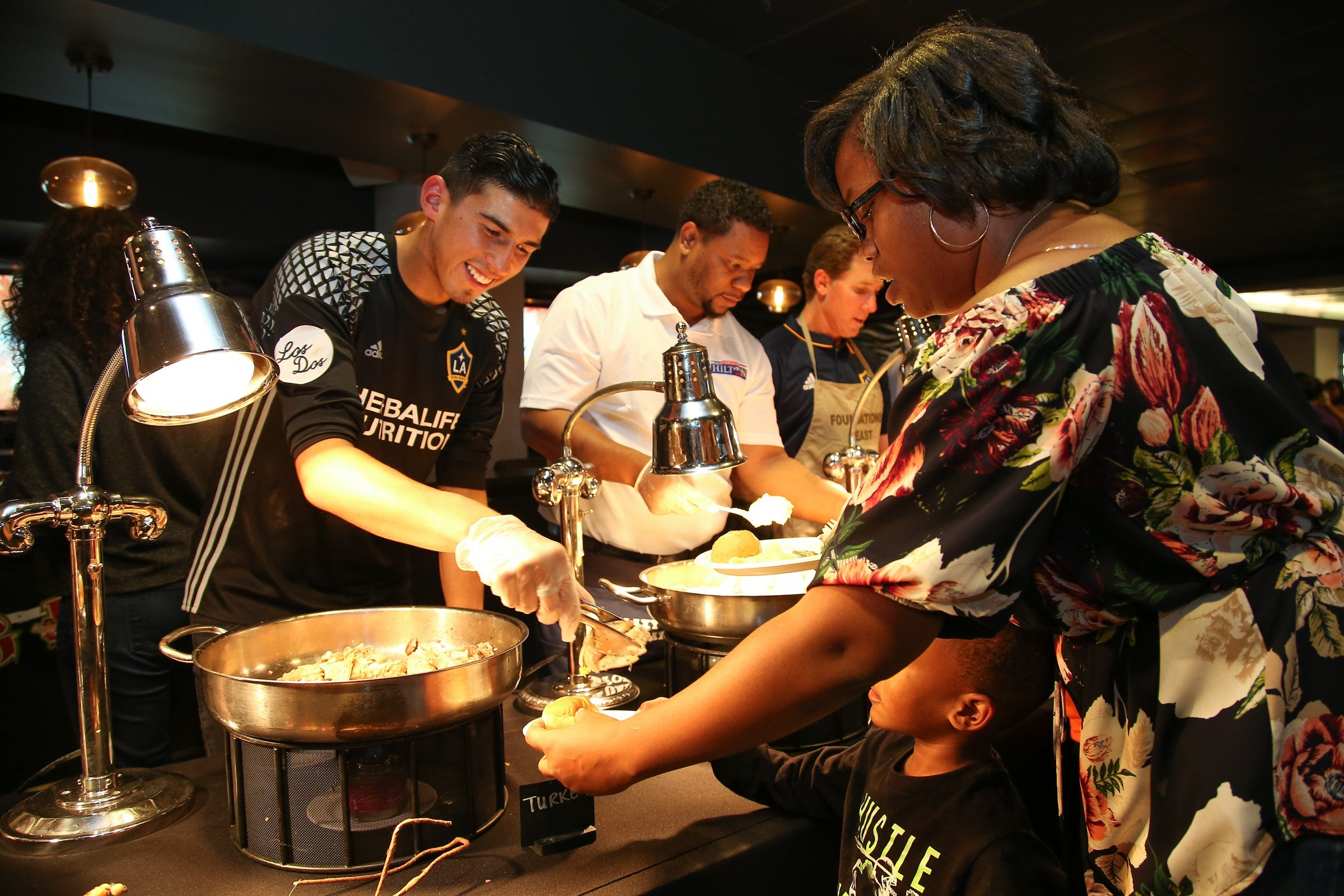 More Info for StubHub Center Foundation and LA Galaxy partnered up for a slambang Thanksgiving