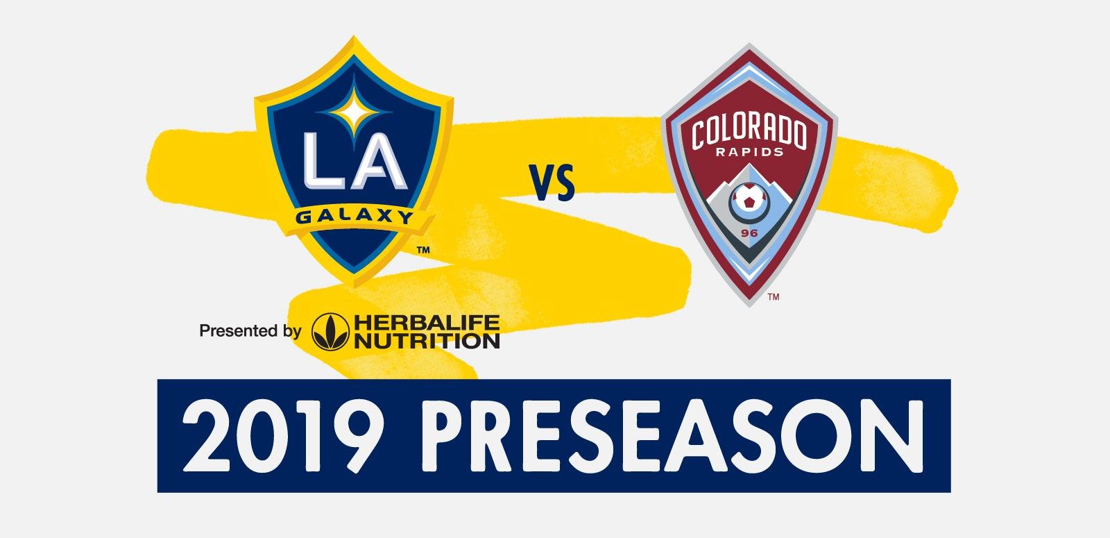 MLS Preseason: LA Galaxy vs. Colorado Rapids